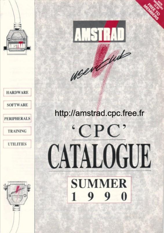Amstrad Catalogue Summer 1990 (uk)