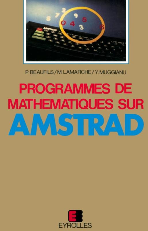 Programmes de mathematiques sur Amstrad (acme)