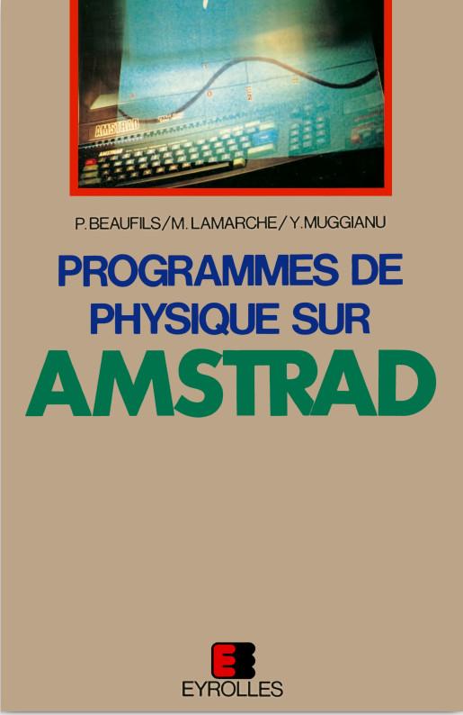 Programmes de physique sur Amstrad (acme)