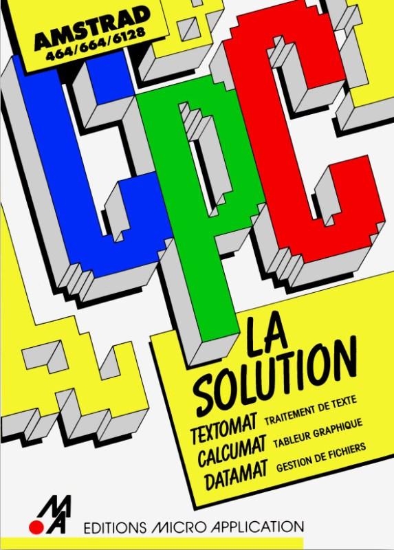 Micro Application Amstrad La solution (Textomat Datamat Calcumat) (acme)