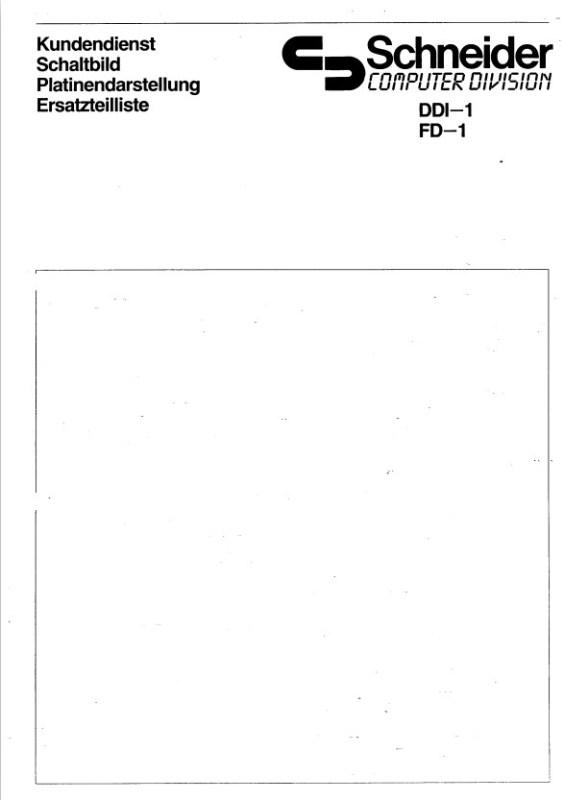 DDi1-FD1 service manual (Schneider)