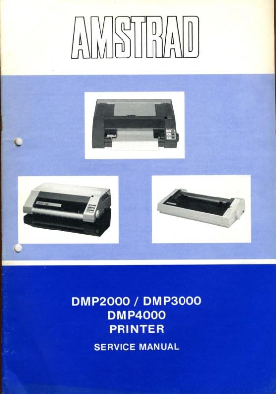 manuel technique des imprimantes DMP (uk)