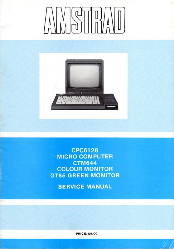 Manuel technique du CPC 6128 (uk)