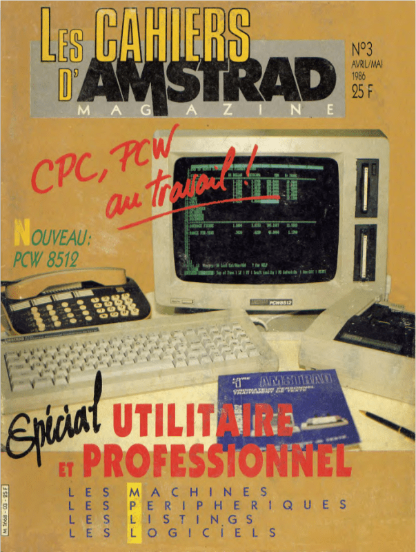 Les cahiers d'amstrad magazine n°03