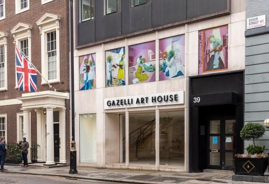Faculty Aziz + Cucher create window project in London