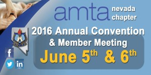 2016 AMTA-NV Chapter Annual Convention banner