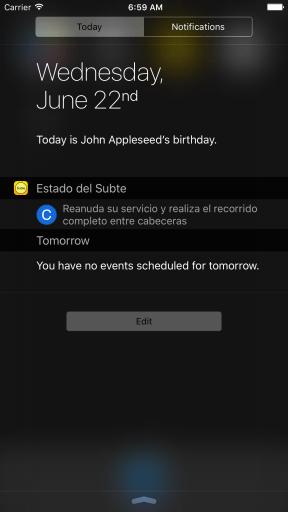 Versión anterior (iOS 9)