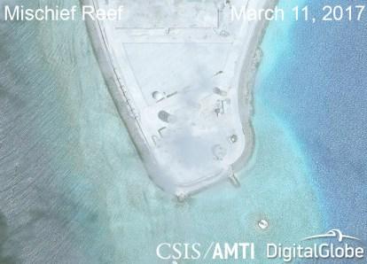 Mischief Reef Radar Array 3.11.17