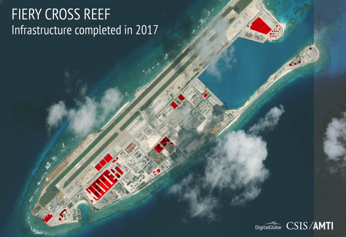 Fiery Cross Reef, November 19, 2017