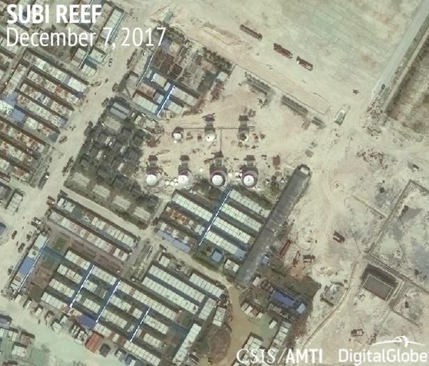 Subi Reef, December 7, 2017