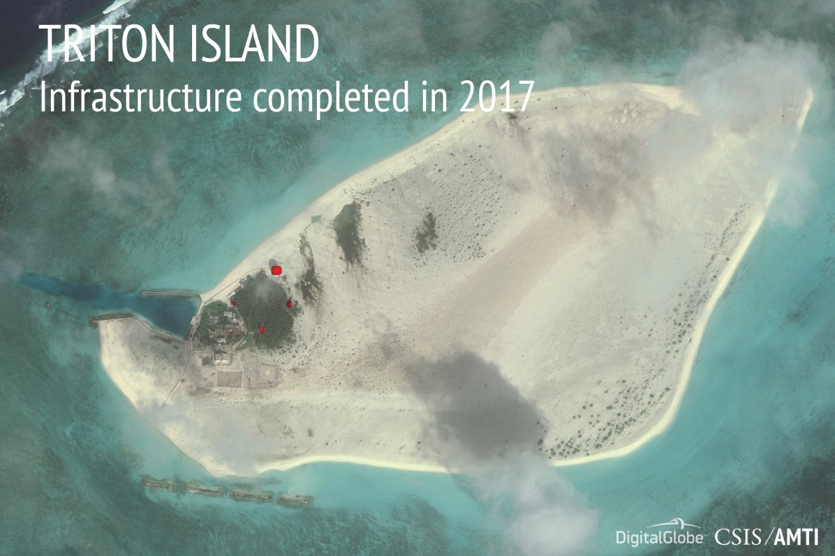 Triton Island, December 2, 2017