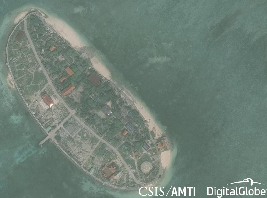 南海,太平島,東沙島,蔡英文,越南,海巡署,敦謙沙洲,美濟礁,渚碧礁,永暑礁