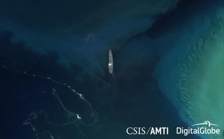 Subi Reef Ships