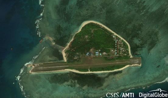 Thitu Island, Dec 14 2018