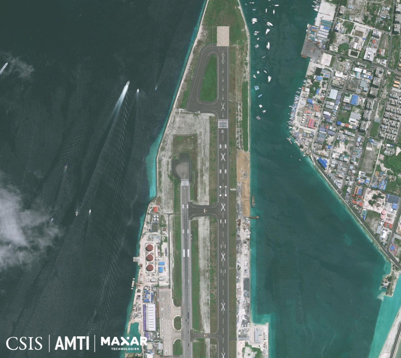 Velana International Airport (north), August 22, 2020