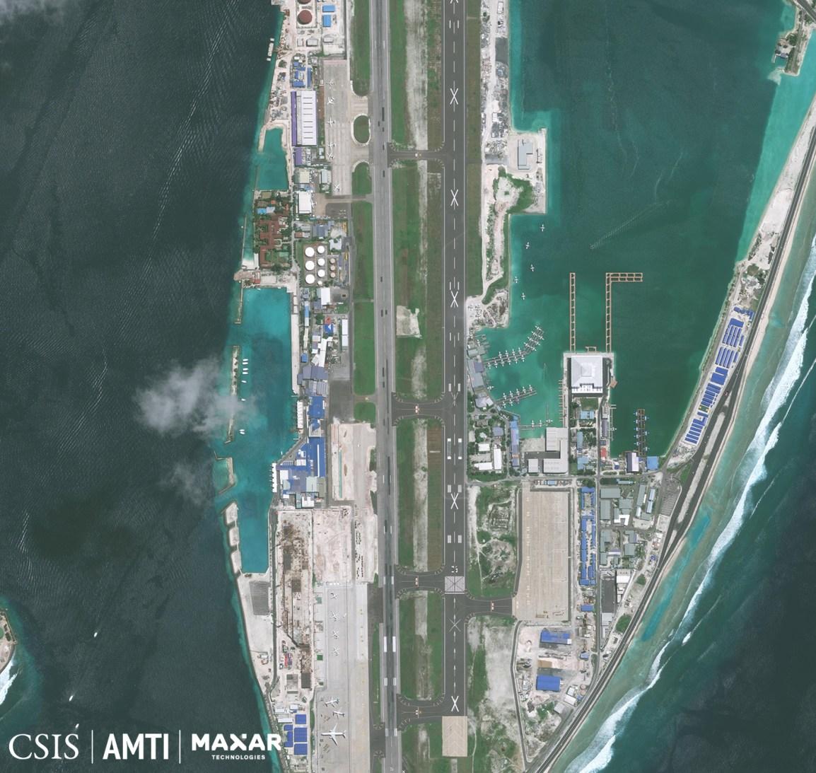 Velana International Airport (South), August 22, 2020