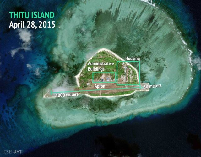Thitu Island, April 28, 2015