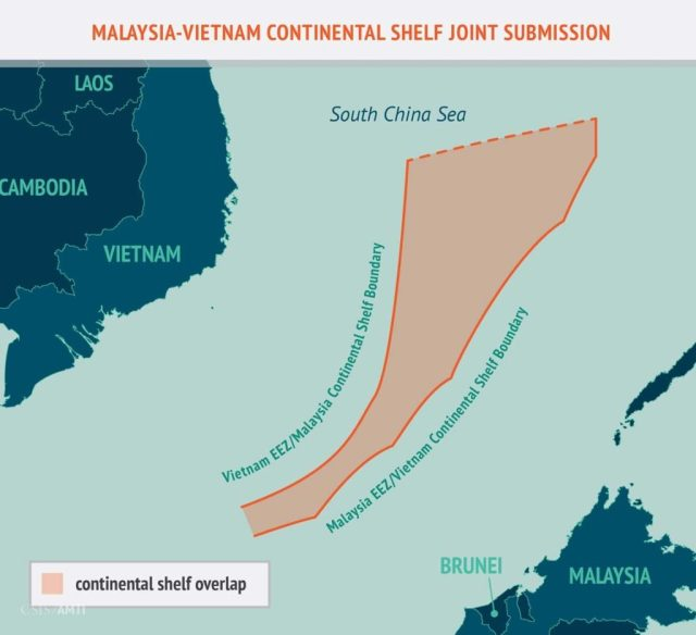 Malaysia-Vietnam Continental Shelf Joint Submission