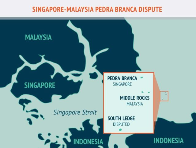 Singapore-Malaysia Pedrea Branca Dispute