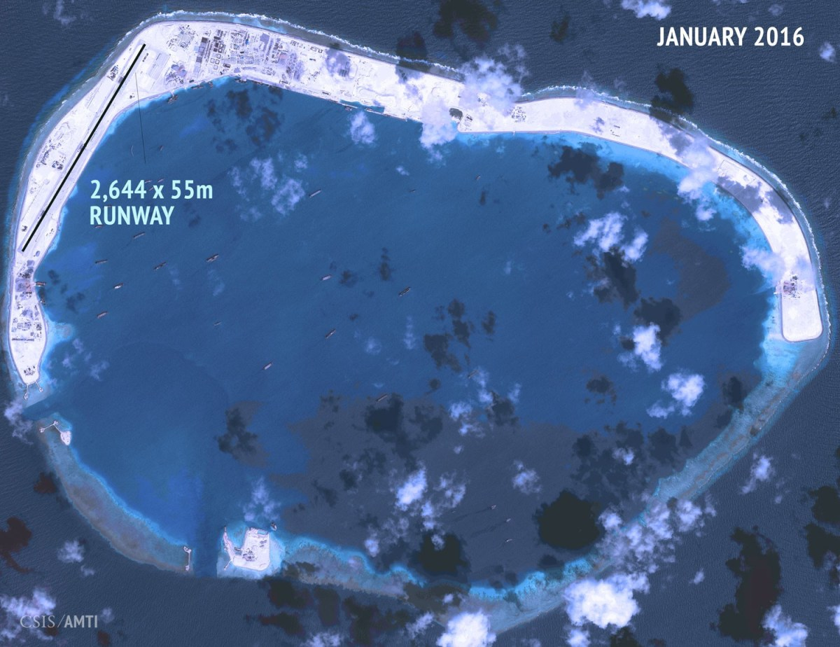 Mischief Reef January