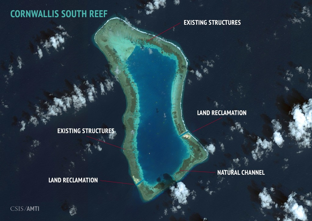 Cornwallis South Reef Overview