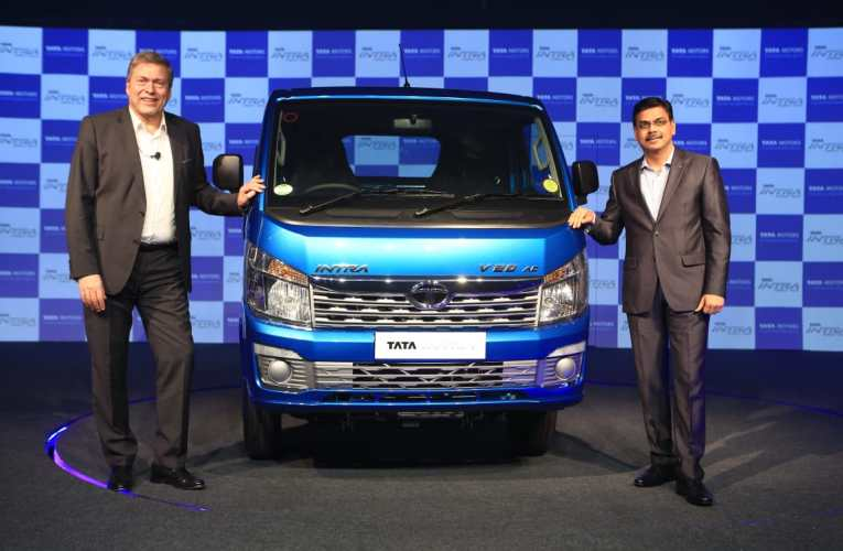 Tata Motors launches Indias first compact truck Tata INTRA