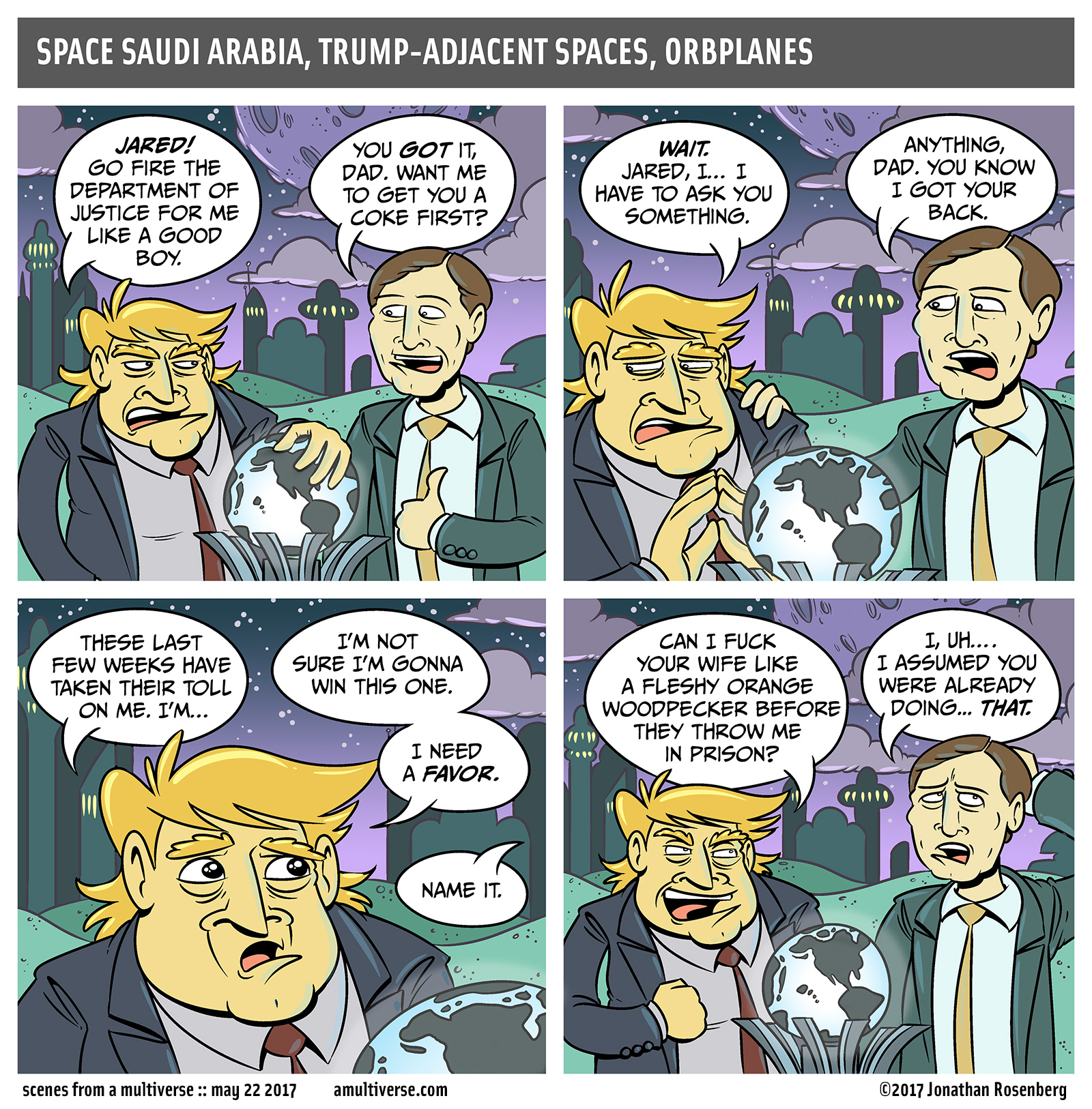 this is the last trumpcest joke I'll do, I promise, sort of, possibly