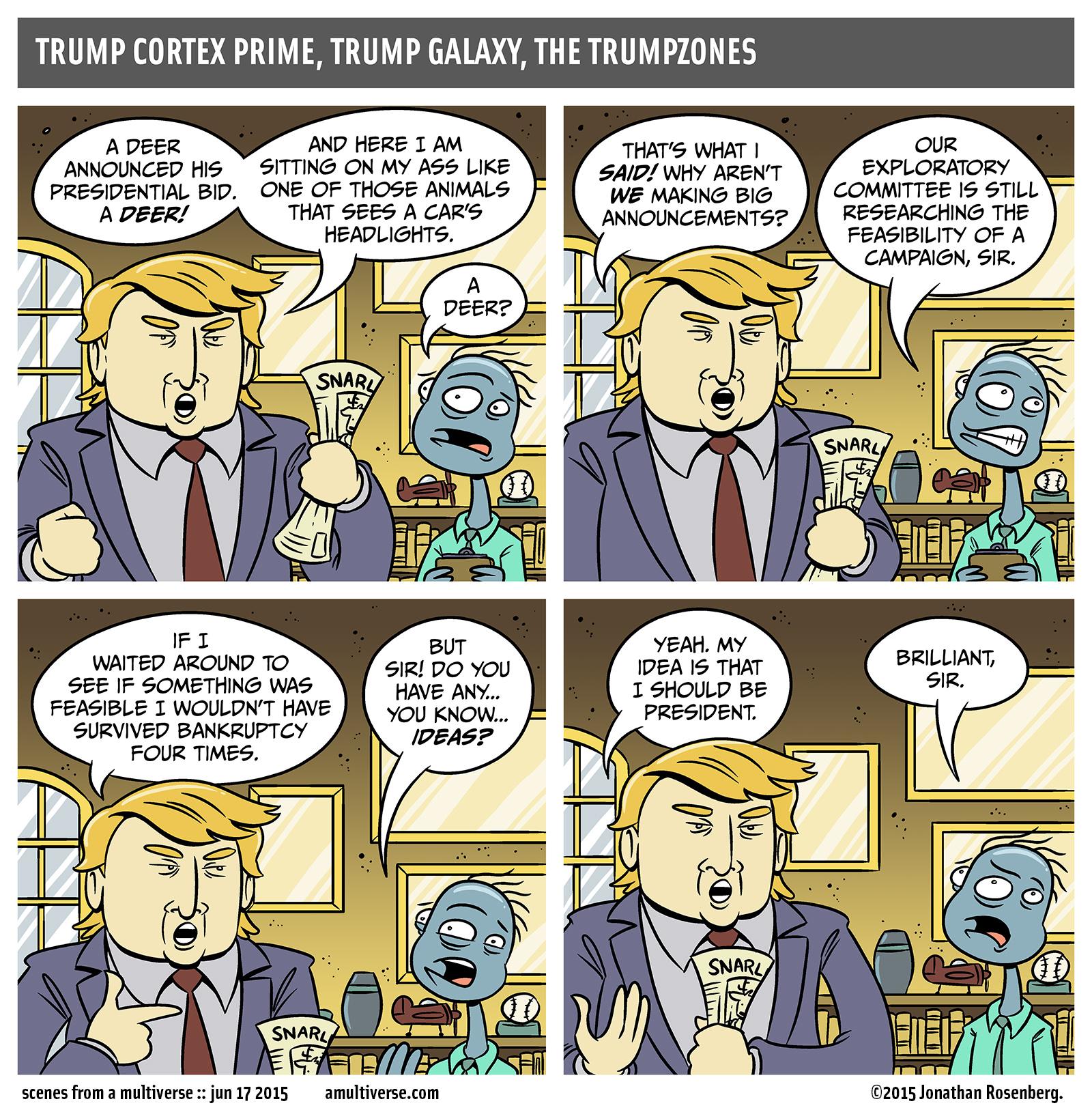 Trump/Trump's Toupee 2016