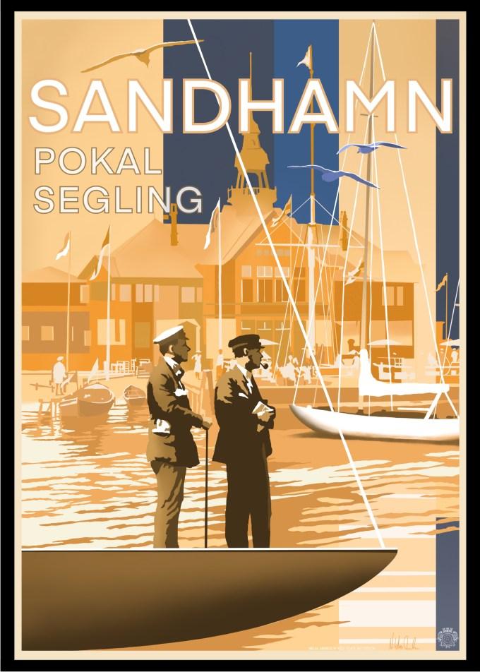 Sandhamn Pokal Poster