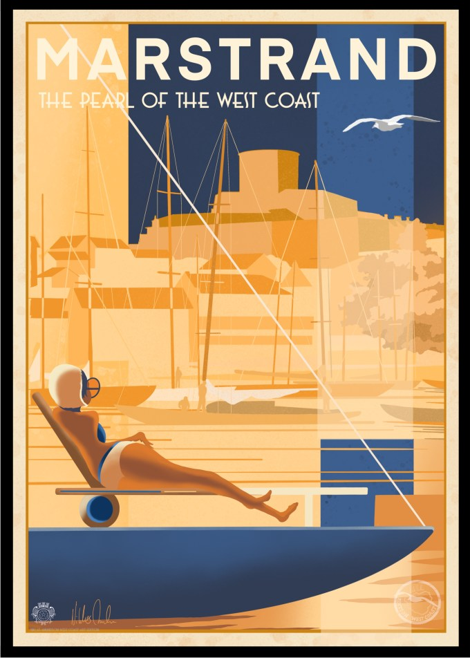 Marstrand The Pearl Poster