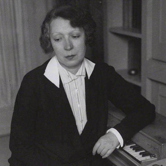 Мари Лорансен в 1930 году (фрагмент снимка), фотография Андре Кертеша © Estate of André Kertész