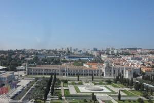 Mosteiro dos Jerónimos e praça do Império Foto: MIR, 2013.