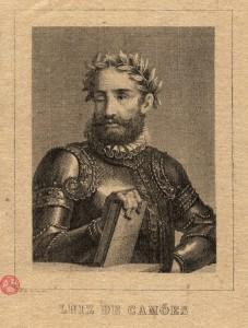 Luiz de Camões Gravura de Joaquim Pedro de Sousa.  [Lisboa: Imprensa Nacional 1873]