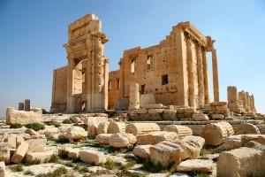 Templo de Bel Palmira, Síria Foto: Zeledi, 2005.