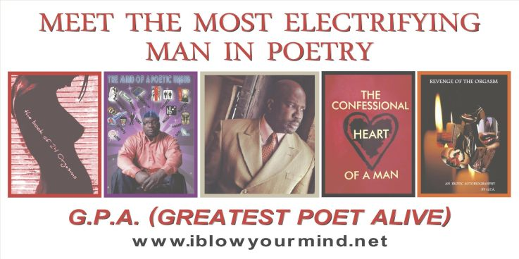 Greatest Poet Alive James Gordon and book covers