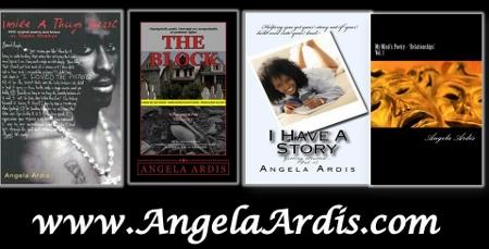 Angela Ardis books and website