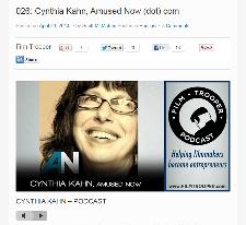 Cynthia Kahn on Film Trooper Podcast