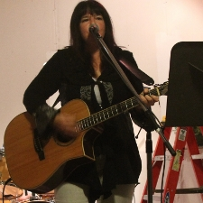 Carla Bonnell performing 4