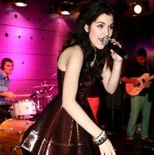 Celeste Buckingham singing