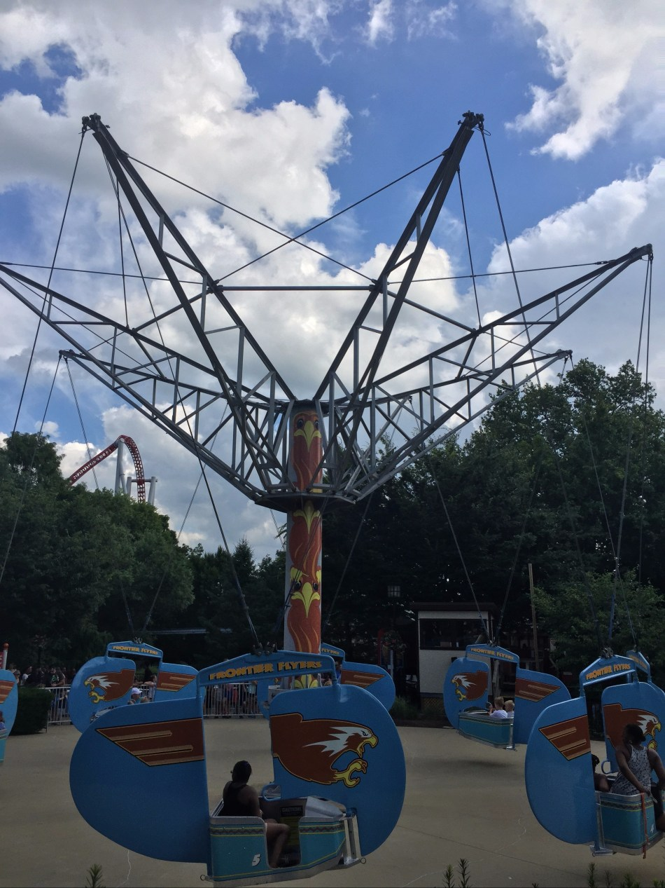 Frontier Flyers at Hersheypark.