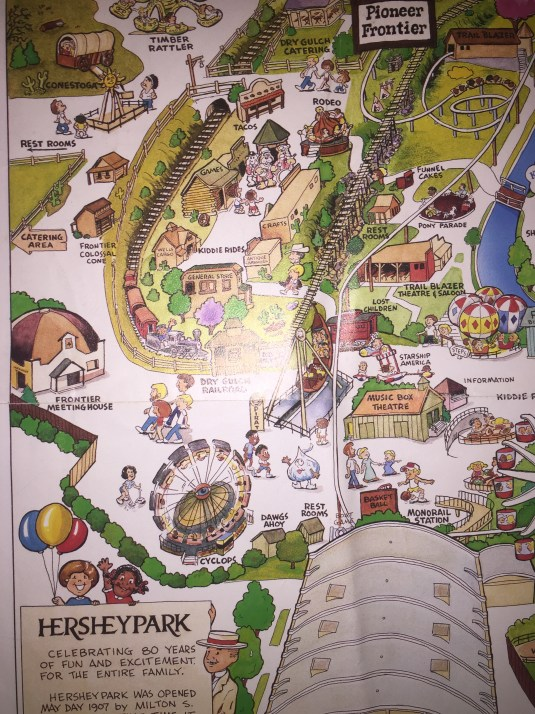 1987 Souvenir map A
