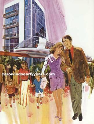 Carolina Center Hotel-Monorail [Carowinds The Early Years]