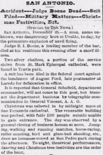 1883-12-26 The Galveston [TX] Daily News (p1)