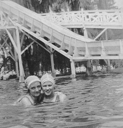 1924-1928 ~ Hershey Park pool 002