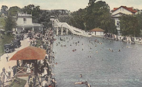 1924-1928 ~ Hershey Park pool