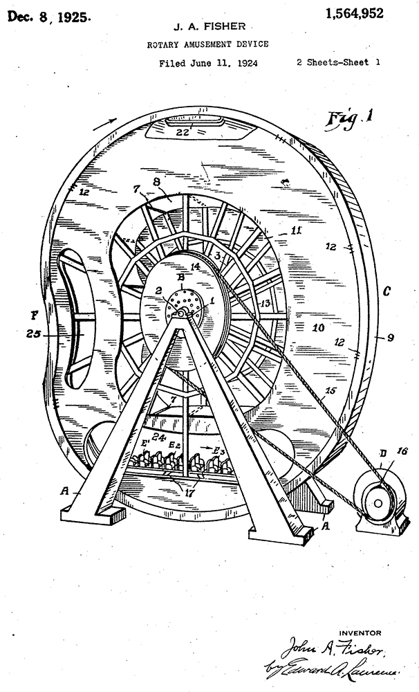 Rotary Amusement Device