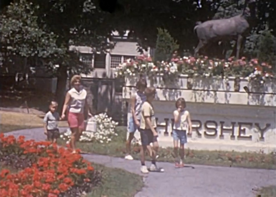 1966 Hersheypark main entrance