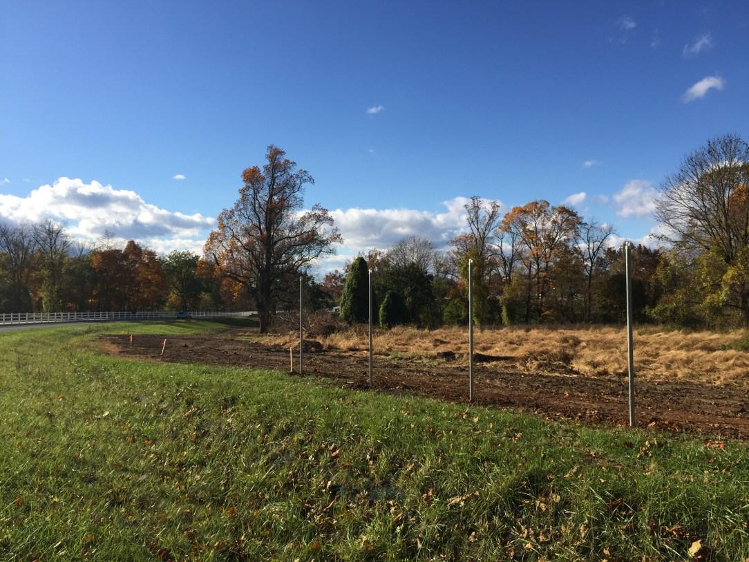 Hersheypark new perimeter fence