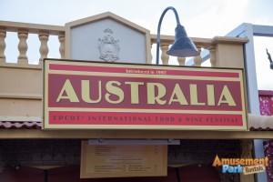 Epcot International Food and Wine Festival 2014 - Australia