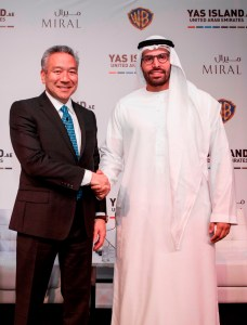 His_Excellency_Mohamed_Khalifa_Al_Mubarak_with_Kevin_Tsujihara